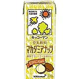 キッコーマン飲料 豆乳飲料マカダミアナッツ 200ml×18本
