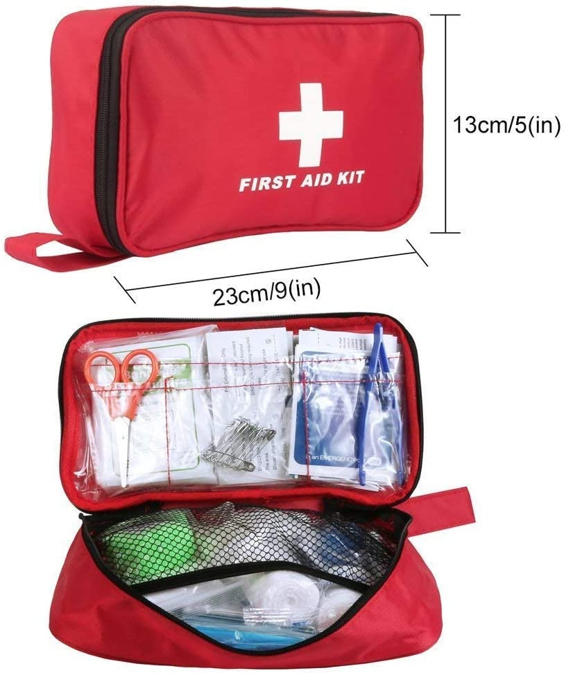 miniatura 9 - Kit di Primo Soccorso 180 Pezzi, Kit di Pronto Soccorso Compatto Professionale,