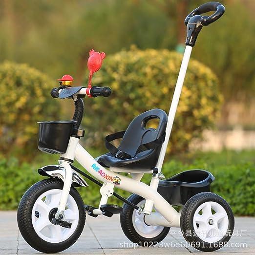 Defect Triciclo para niños, Bicicleta de Tres Ruedas con Empuje ...