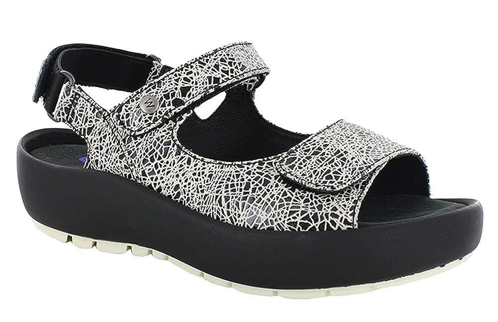 40110 AltWeiß Craquelé Leder Wolky Damen Schnuerschuhe Coral schwarz Summer Velvet lea. 4800207 Schwarz108885