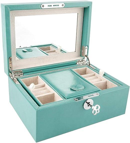 ZOUQILAI Caja de empaque para joyería Joyas Caja Colgante de Jade ...