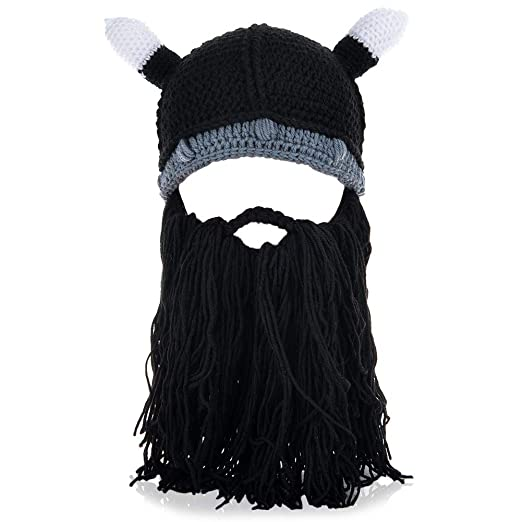 635ce0c7 VBIGER Beard Hat Beanie Hat Knit Hat Winter Warm Octopus Hat Windproof  Funny Men & Women