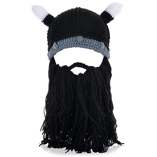 635ce0c7 VBIGER Beard Hat Beanie Hat Knit Hat Winter Warm Octopus Hat Windproof  Funny Men & Women