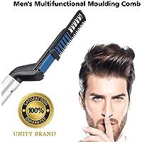 Unity Brand™ Men Quick Beard Straightener Hair Comb Multifunctional Hair Curler Show Cap Tool