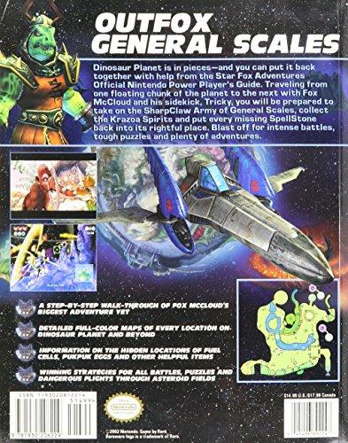 Starfox Adventures Nintendo Official Player's Guide (Nintendo Power/Nintendo GameCube, n/a)