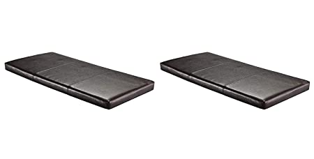 Winsome 92102 Paige Bench, Espresso Pack of 2