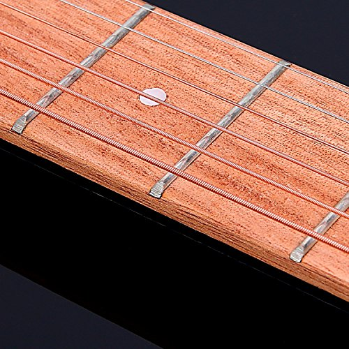 Large Product Image of Ohuhu Wooden Pocket Guitar, 6 Fret Portable Guitar Practice Tool Gadget For Beginner Chord Trainer, Chord Fingering Pratice Tool