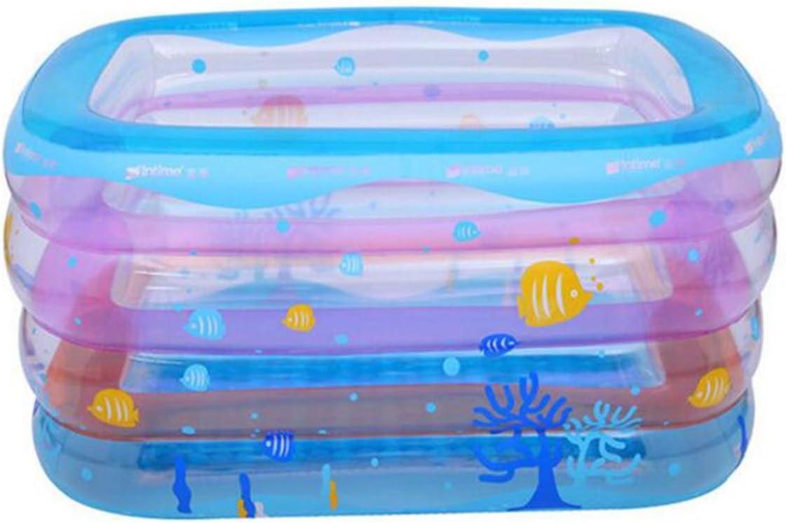 OOFWY Los niños juegan a la Piscina Cubo recién Nacido de hidromasaje, de Protección Ambiental de Material de PVC inflables del