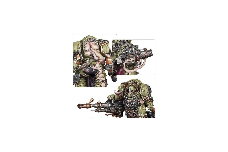 Games Workshop 99120102074'' Death Guard Blightlord Terminators Miniature by Games Workshop (Image #3)