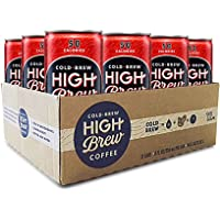 12-Pack High Brew Coffee Double Espresso Can