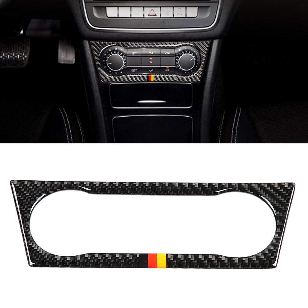 climatizzatore per auto Pannello di controllo AC Cornice rivestimento adesivo per A//B//GLA//CLA guida a sinistra #1 Decalcomanie per interni auto