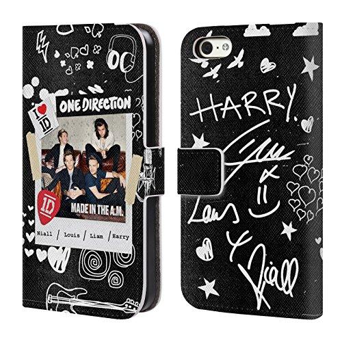Officiel One Direction Instantané B Made In The A.m. Étui Coque De Livre En Cuir Pour Apple iPhone 5c