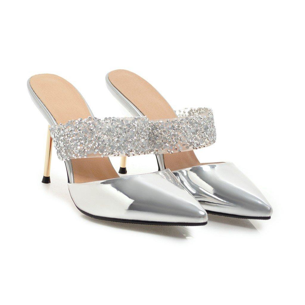 Argent QIN&X Chaussures Femmes Sandales Talons 34 EU