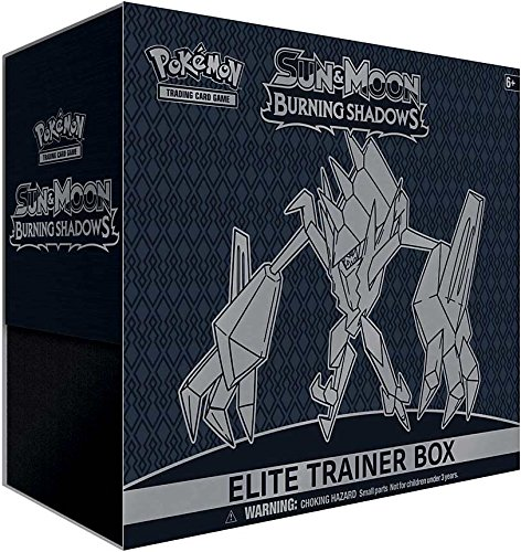 Pokemon Sun & Moon Burning Shadows Elite Trainer Box, Multicolor ()