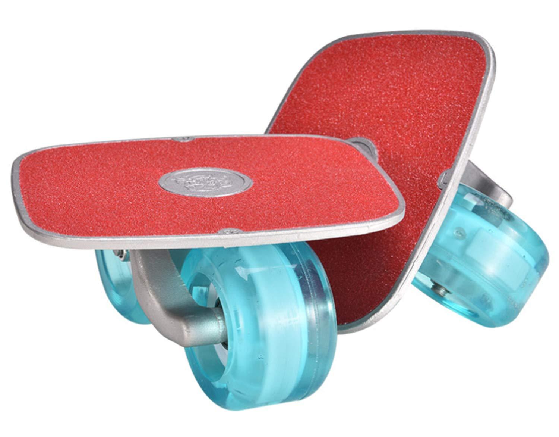Drift Skates Pro Skates, Soporte de aleación Flash (Freeline Skates) con Ruedas de PU de 70 mm Soporte de aleación Flash (Freeline Skates) con Ruedas de PU de 70 mm SKQC 8031190_Green