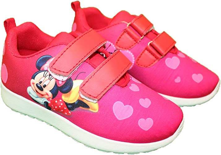 Minnie - Zapatillas de Baloncesto para niña, Rojo (Rojo), 26 EU ...