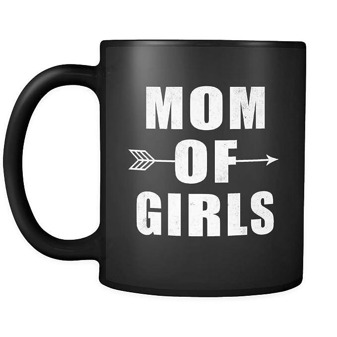 Amazon Mom Of Girls Mug Gift Ideas For Birthday Women Black Clothing