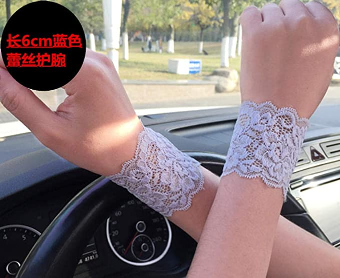 SHOUtao Guantes cordón Pulsera Corrector Tatuaje Protector Solar ...