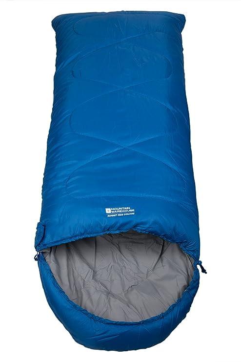 Mountain Warehouse Saco de dormir Summit Mini para niño Azul Talla única