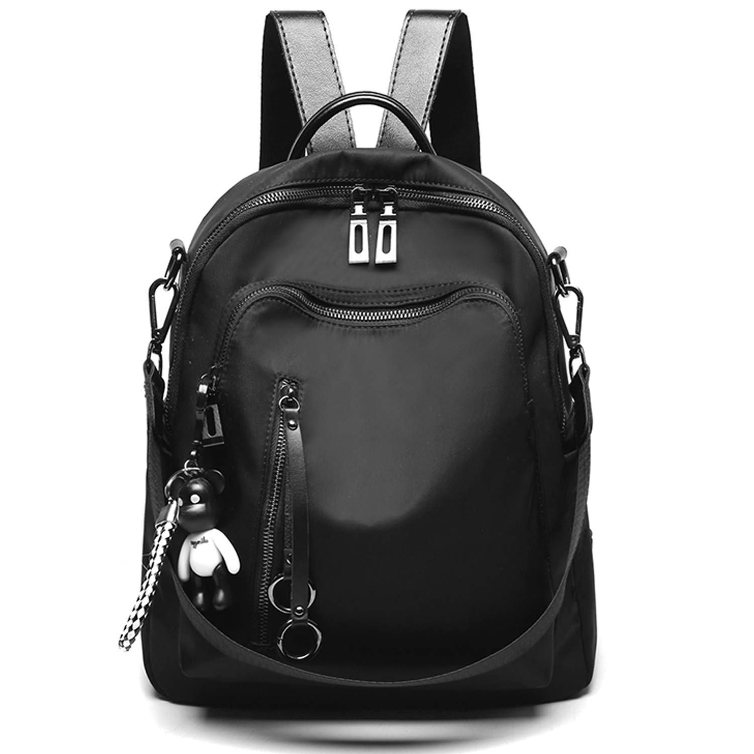 SYKT Backpack Purse for Women Fashion School PU Leather Purses and Hangbags Shoulder Bags