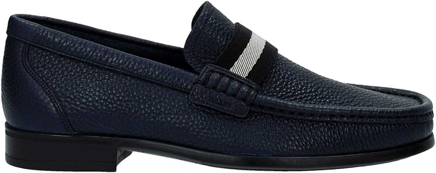 Humillar Sucio domingo  Bally Loafers Men - (6193623DARKNAVY) 8 UK Blue: Amazon.co.uk: Shoes & Bags