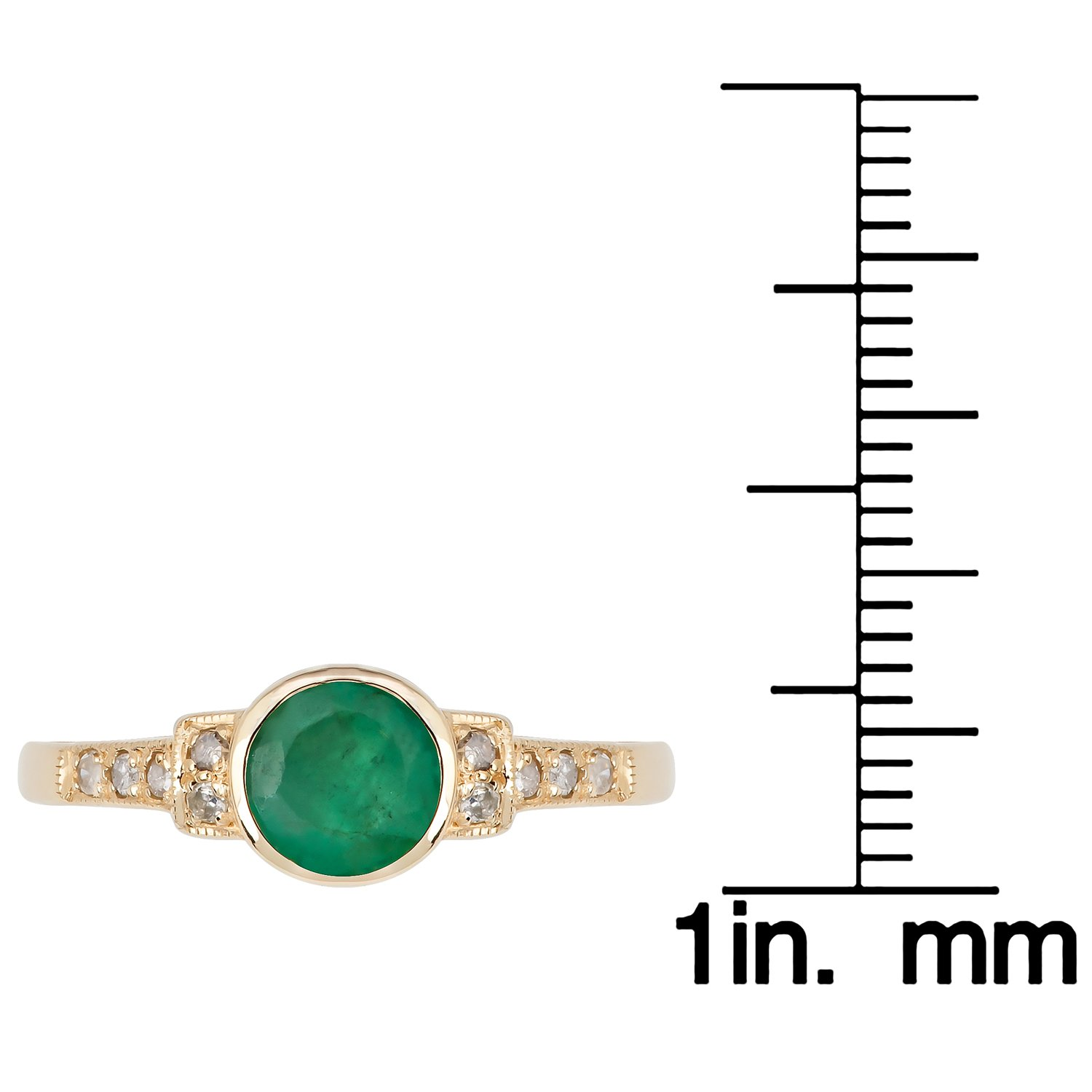 and dp treated gemstone ca sterling l heat emerald silver sapphire amazon jewelry created ring white