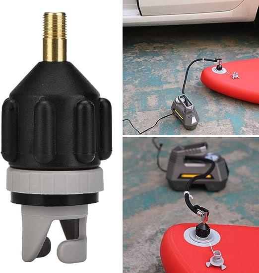 Kajak Ventil Adapter Reparatur Fischerboot Pumpe Paddel Board Luft Aufpumpen