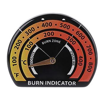 Ycncixwd - Termómetro magnético para horno, placa de ventilador ...