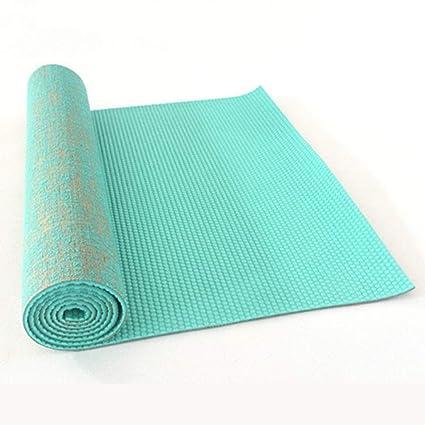 Cassiel Y Y - Esterilla de Yoga de PVC para Pilates, 0,5 mm ...