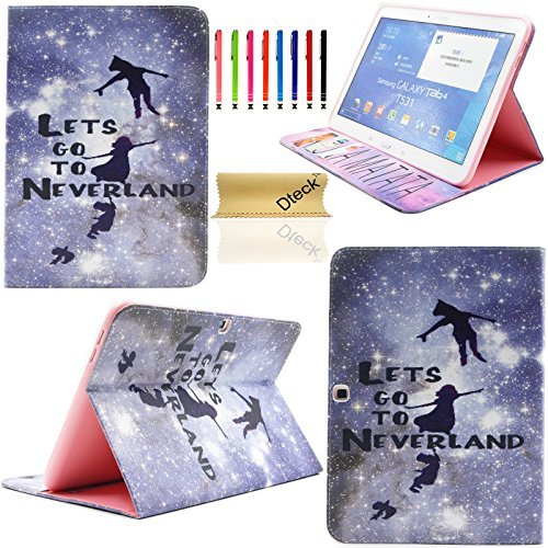 Tab 4 10.1 Case, Dteck(TM) Ultra Thin Colorful Painting Design PU Leather...