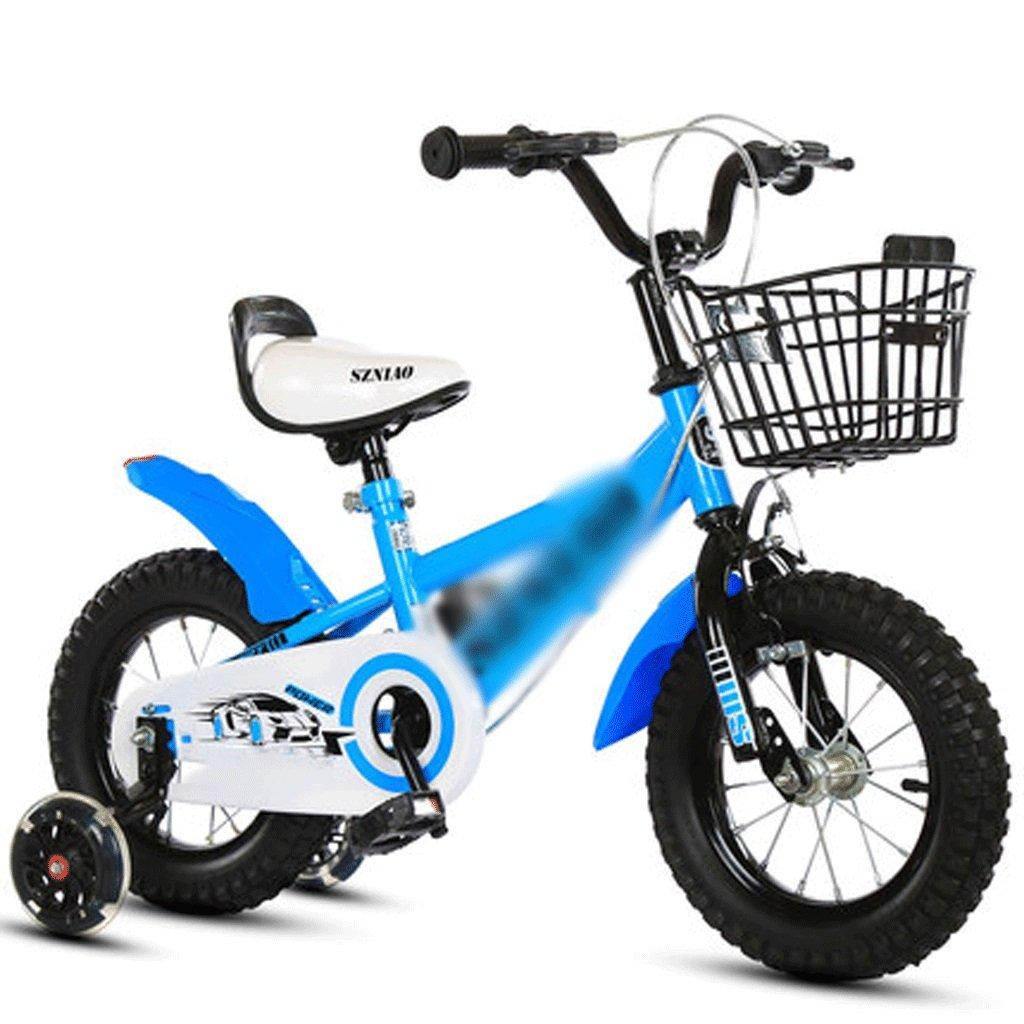 自転車 自転車の子供の車のおもちゃの車18から20インチの男性と女性の赤ちゃんの車の子供の自転車青 (サイズ さいず : 20 inch) B07DYGN1DZ20 inch