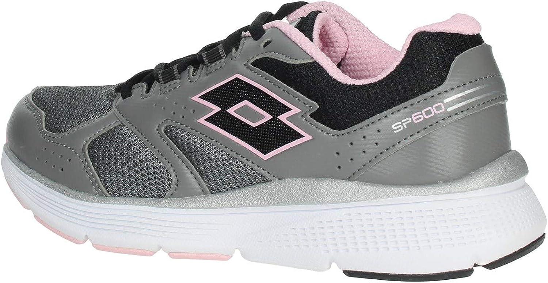 Zapatillas Running Mujer LOTTO SPEEDRIDE 600 Vi W. 211828. Gray/Pink. Talla 39: Amazon.es: Zapatos y complementos