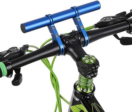 Bike Flashlight Cam Holder Handle Bar Bicycle Accessory Extender Mount Brackets