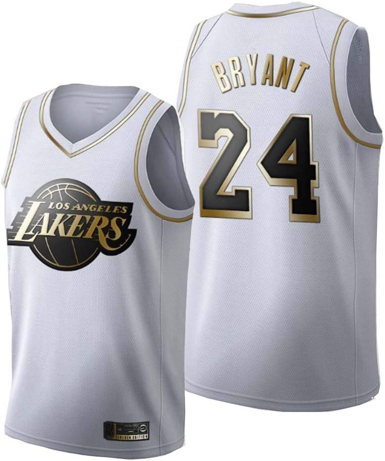 24 Lakers Sportswear Neutral Sleeveless Platinum Black Gold Mesh ...