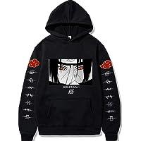 SHKEHO-kehong Naruto Hoodie Jacket Cosplay Costume Sweatshirt Pullover Sweater