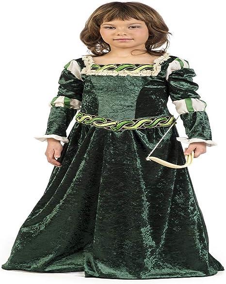 Limit Sport Disfraz de Arquera Medieval para niña: Amazon.es ...