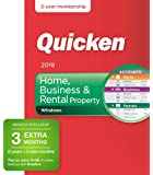 Quicken Home, Business and Rental Property Manager 2018 Release – [Amazon Exclusive] 27-Month Personal Finance & Budgeting Membership
