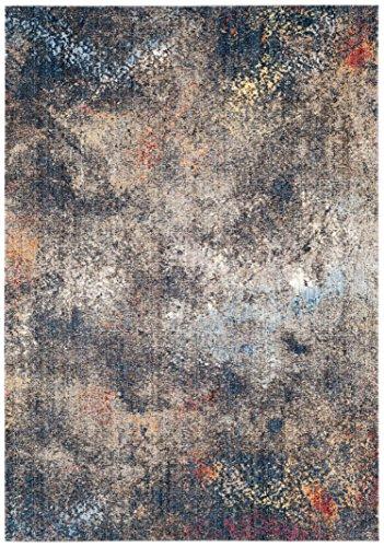 Cheap Safavieh Monray Collection MNY651E Blue and Ivory Area Rug (9′ x 12′)