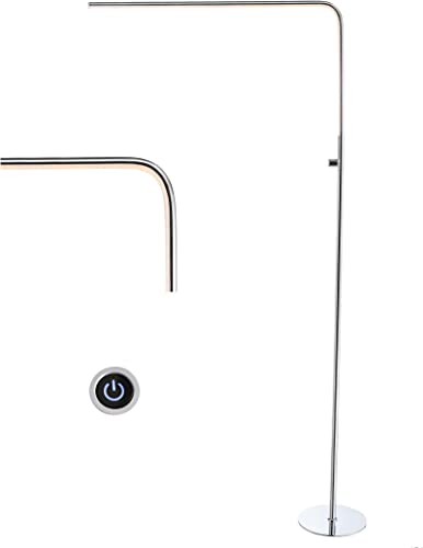JONATHAN Y JYL7009A Natalie 63″ LED Integrated Floor Lamp Modern,Contemporary