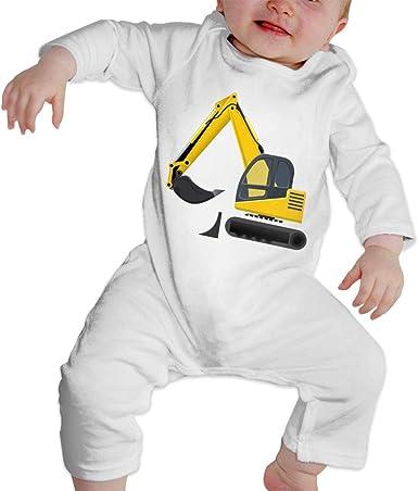 Moda Color Sólido Excavadora bebé Crawler Personalidad ...