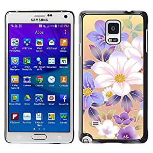 Stuss Case / Funda Carcasa protectora - Rise And Shine Of Magical Flowers - Samsung Galaxy Note 4