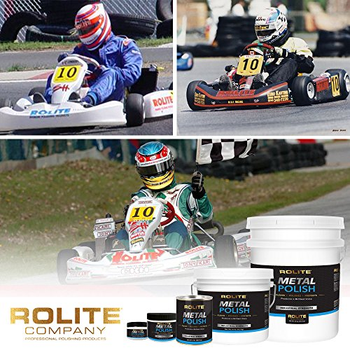 Rolite Metal Polish Paste (1lb) for Aluminum, Brass, Bronze, Chrome, Copper, Gold, Nickel and Stainless Steel by Rolite (Image #5)