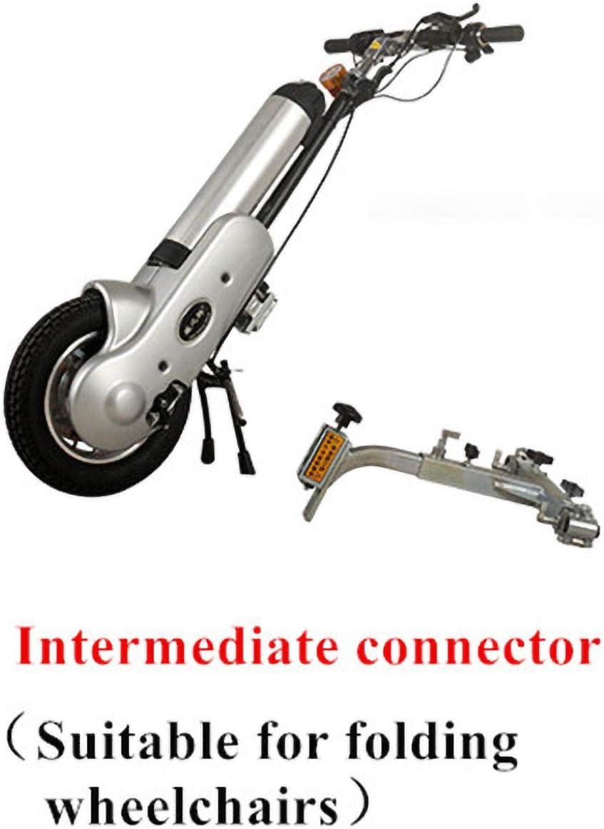 WHEELCHAIR Poderoso Dispositivo de Silla de Ruedas eléctrica Handbike podría Usar con una Silla de Ruedas Deportiva Distancia de Viaje de Silla de Ruedas 35 km
