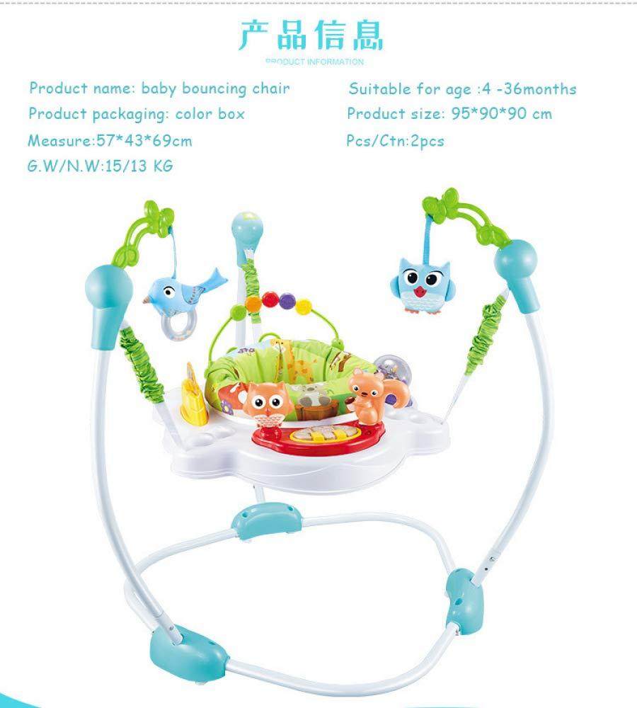 Jumperoo Chaise De B/éb/é Portable Nouveau-n/é Baby Activity Centre Activit/é Jumper Rainforest