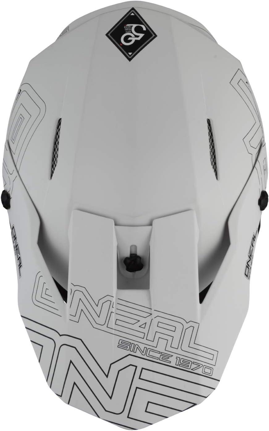 Gr/ö/ße XL ONeal 3 Series Flat 2.0 Motocross Enduro MTB Helm wei/ß 2020 Oneal 61-62cm