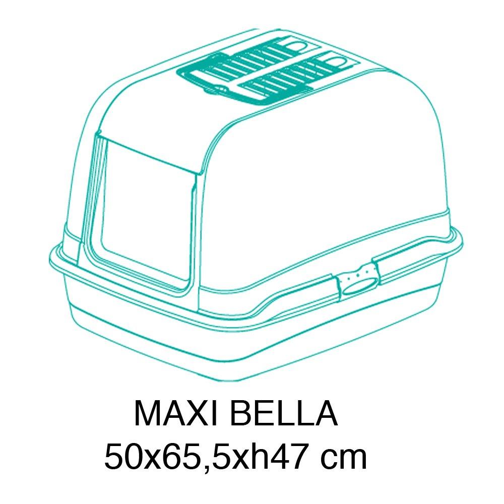 Ferplast 72070099/W2/Lettiera Maxi Bella Cabrio