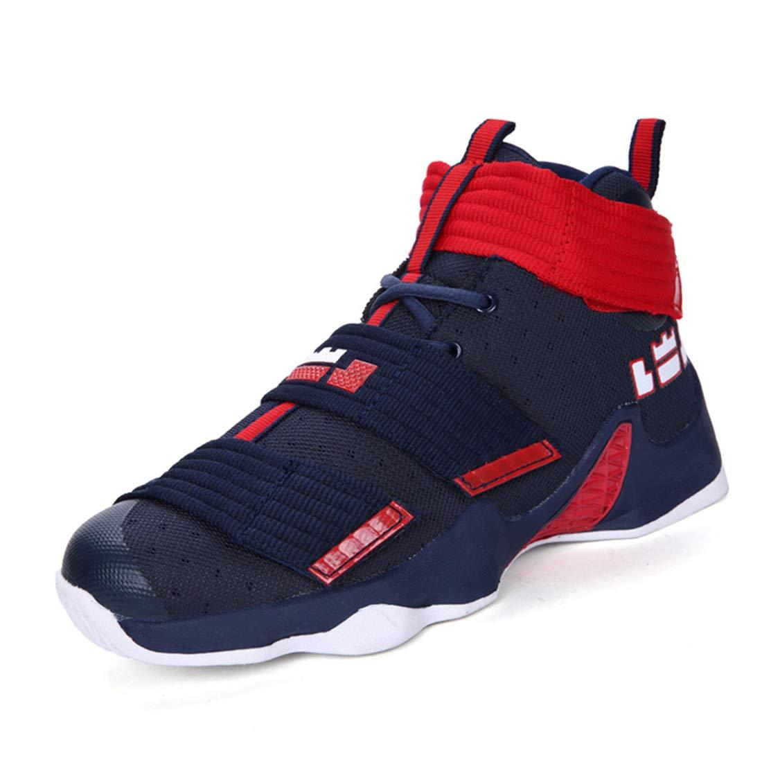 DANDANJIE Hommes Et Femmes Basket-Ball Chaussures Athlétiques Couple Chaussures De De Chaussures Sport Respirant 41EU C f9c8db
