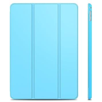 JETech iPad Air 2 Slim Fit Funda Carcasa Smart Case con Stand Función y Auto-Sueño/Estela para Apple iPad Air 2 (Azul) - 3042