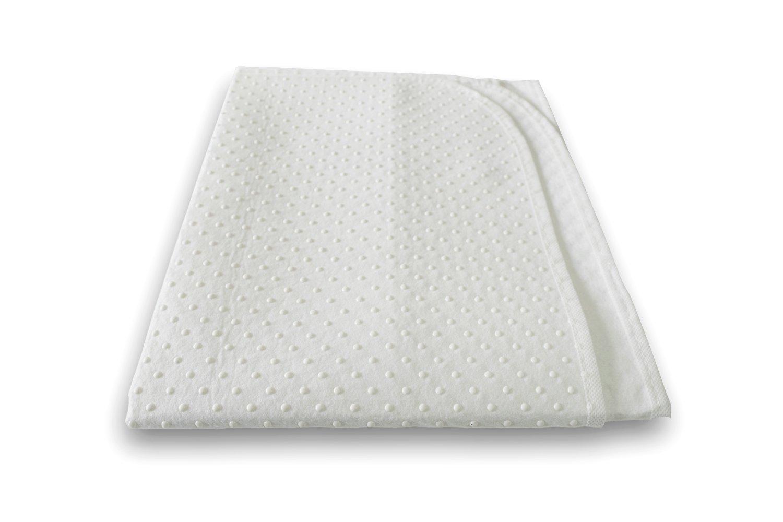 Protector de colchón con grano blanco Weiß Talla:60 x 120 cm Briljant baby BNOP060X120