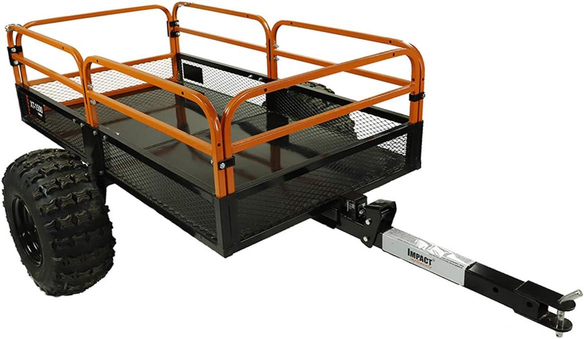 MotoAlliance Impact Implements ATV/UTV Heavy Duty Utility Cart